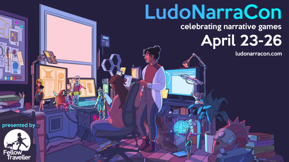 Promo image for LudoNarraCon.
