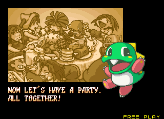 now, let's have a party. all together!